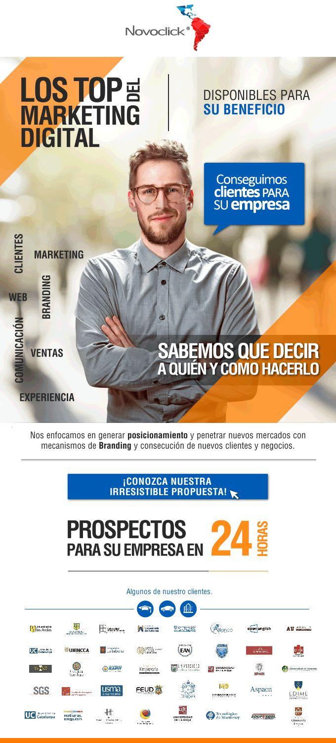 #NOVOCLICK #Marketing Digital #ConseguimosClientesParaSuEmpresa