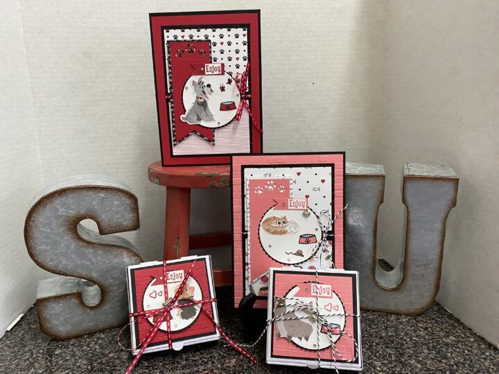 Stampin Up Playful Pets Suite Mary S House Of Cards And More In 2020 Pet Suite Pamper Pets Stampin Up