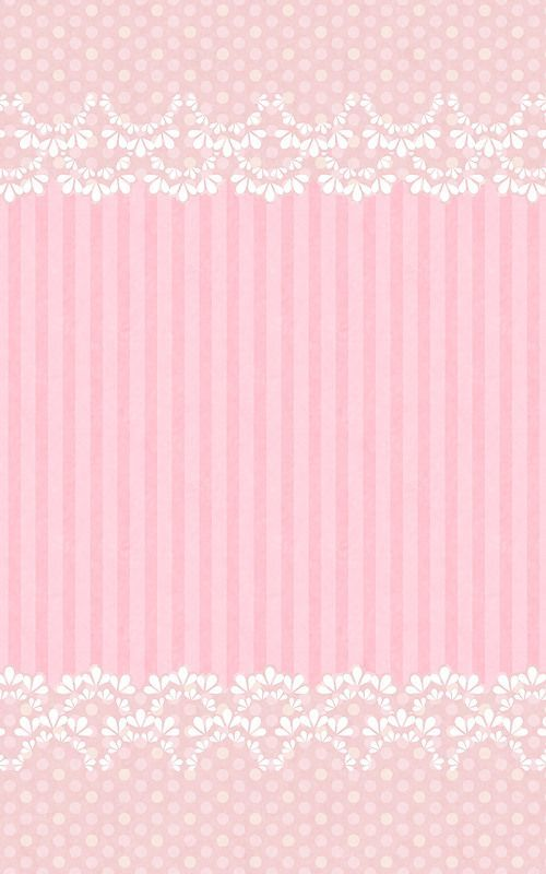 Sweet lacy pink:
