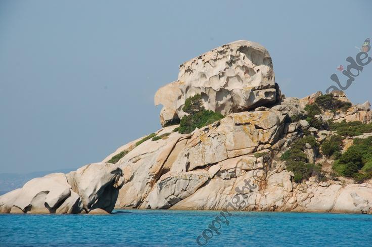 Testa della Strega, Cala Corsara, Isola di Spargi, Arcipelago della Maddalena