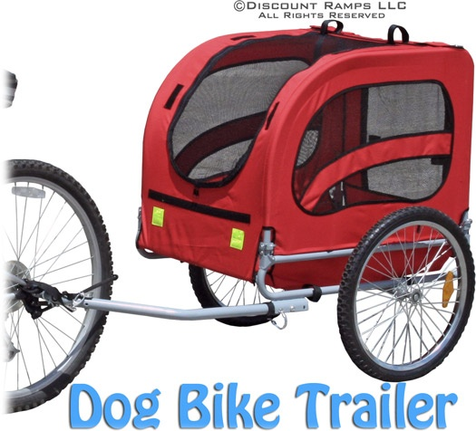lucky dog pet bike trailer bike trailers dog bike and bikes. Black Bedroom Furniture Sets. Home Design Ideas