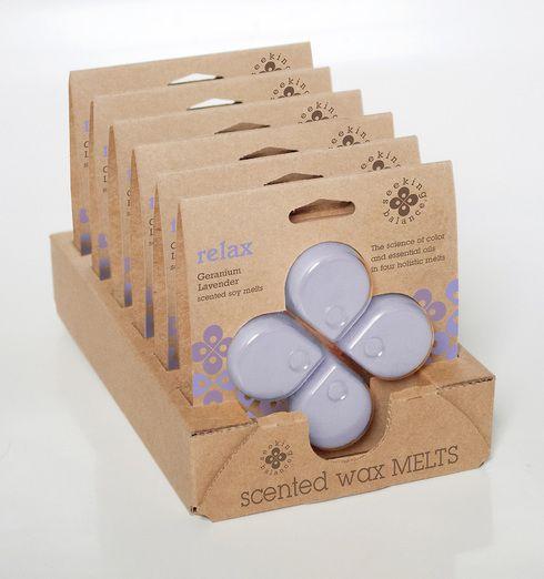 Seeking Balance Melts Geranium Lavender - Relax
