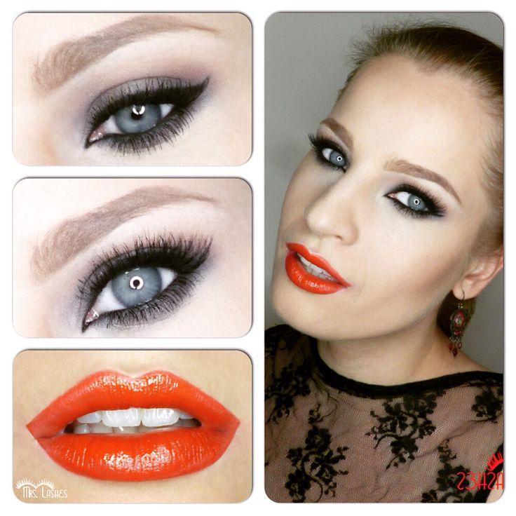 #ilovemywork #mua #makeup #mylook #makijaz #mrslashes #makeupartist #makijazwieczorowy #makijazwalentynkowy #walentynki #beauty #bronze #blueeyes #beautiful #brownmakeup #bronzemakeup #redlips #lips #lashes #longlashes #valentinsday #date #eveningmakeup #class #classmakeup #chanellook #chanel #alittleblackdress