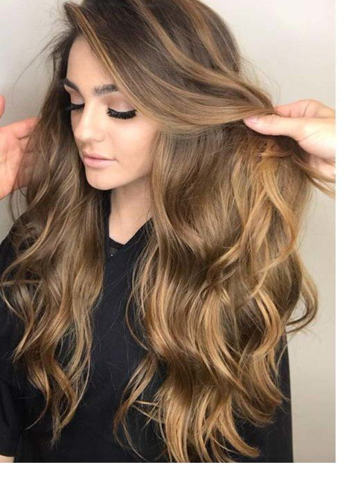 53 Brightest Spring Hair Colors & Trends for Women In 2019 – Glowsly-Beautiful Blends Of Balayage Ombre Hair Colors for 2019-2020-New Design