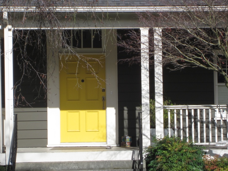 12 best Exteriors images on Pinterest | Yellow houses, Red doors and ...