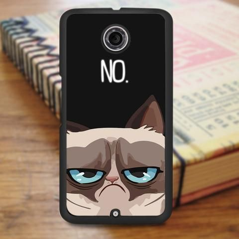 Grumpy Cat No Nexus 6 Case