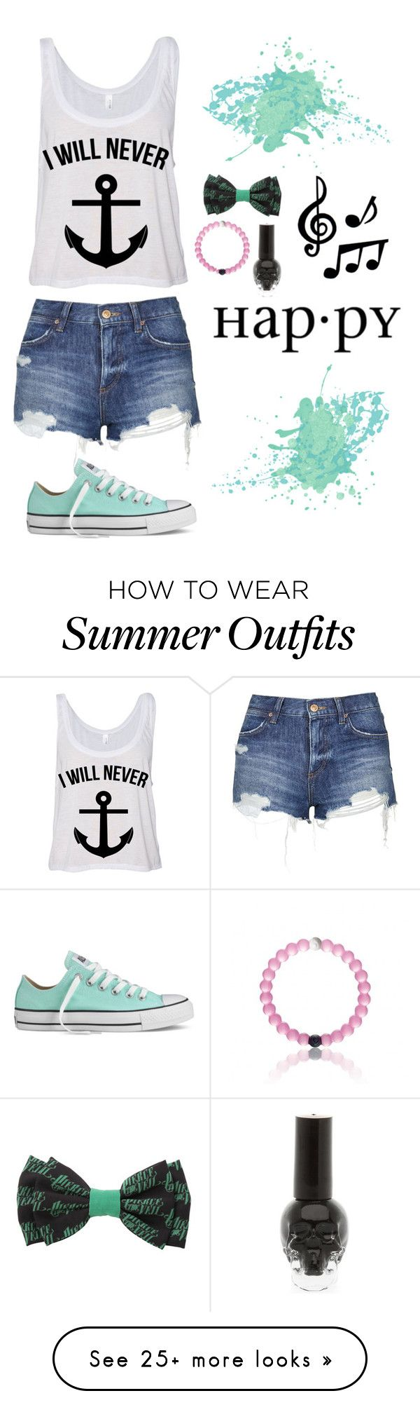 """Refuse to sink"" by emzing-horton on Polyvore featuring Topshop, Converse, ELSE, women's clothing, women's fashion, women, female, woman, misses and juniors"