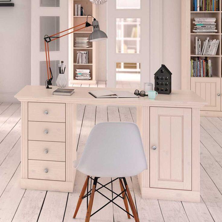 Schreibtisch In Weiß Skandinavischer Landhausstil Jetzt Bestellen Unter:  Https://moebel.ladendirekt
