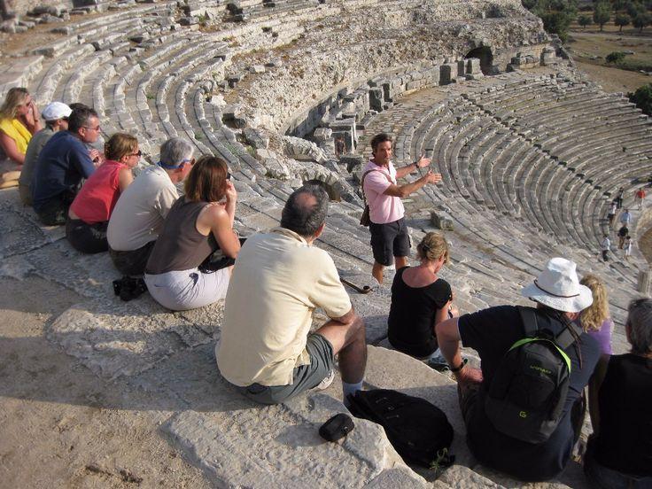 Turkey-archaeological-tour-miletus-theatre-Jeff Buttell