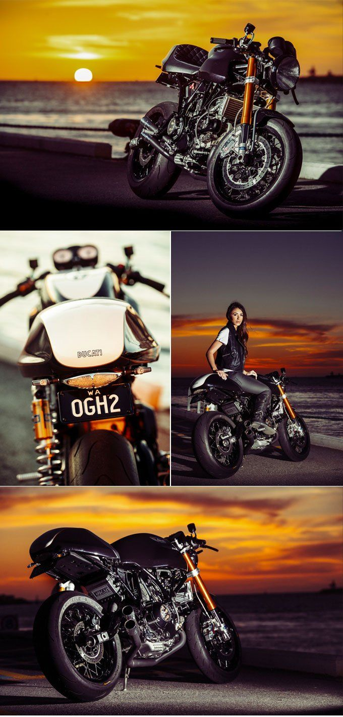 Ducati Custom By Anthony Warnock Corse Motorcycles