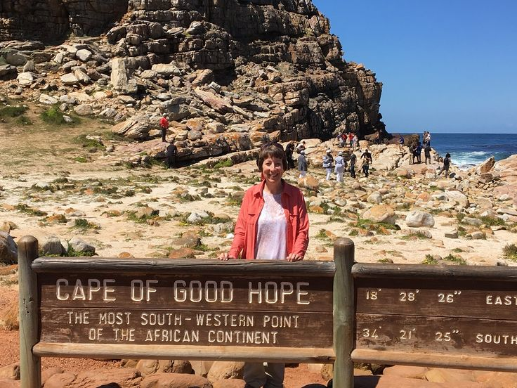 Bucket-list picture at the Cape of Good Hope in South Africa