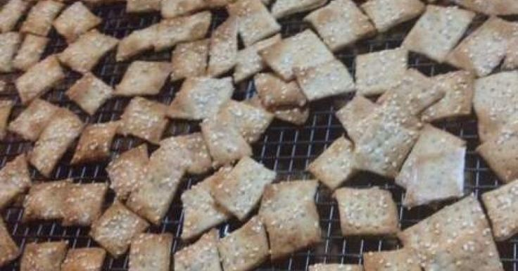 Almost fail proof crackers (Dairy, egg, nut free)