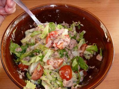 Heart of El: Zeleninové saláty aneb Má obvyklá večeře