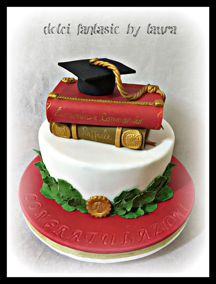 Oltre 25 fantastiche idee su torta di laurea su pinterest for Laurea in design