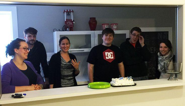 Celebrating Petri's 20th birthday! #Logikommunity #ItsOnlyLogikal