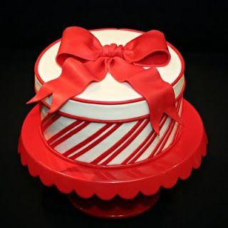 Jessicakes: Candy Cane Cake