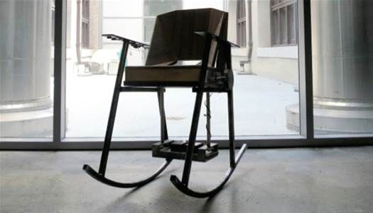 Concept Rocking Chair Could Power Your Phone