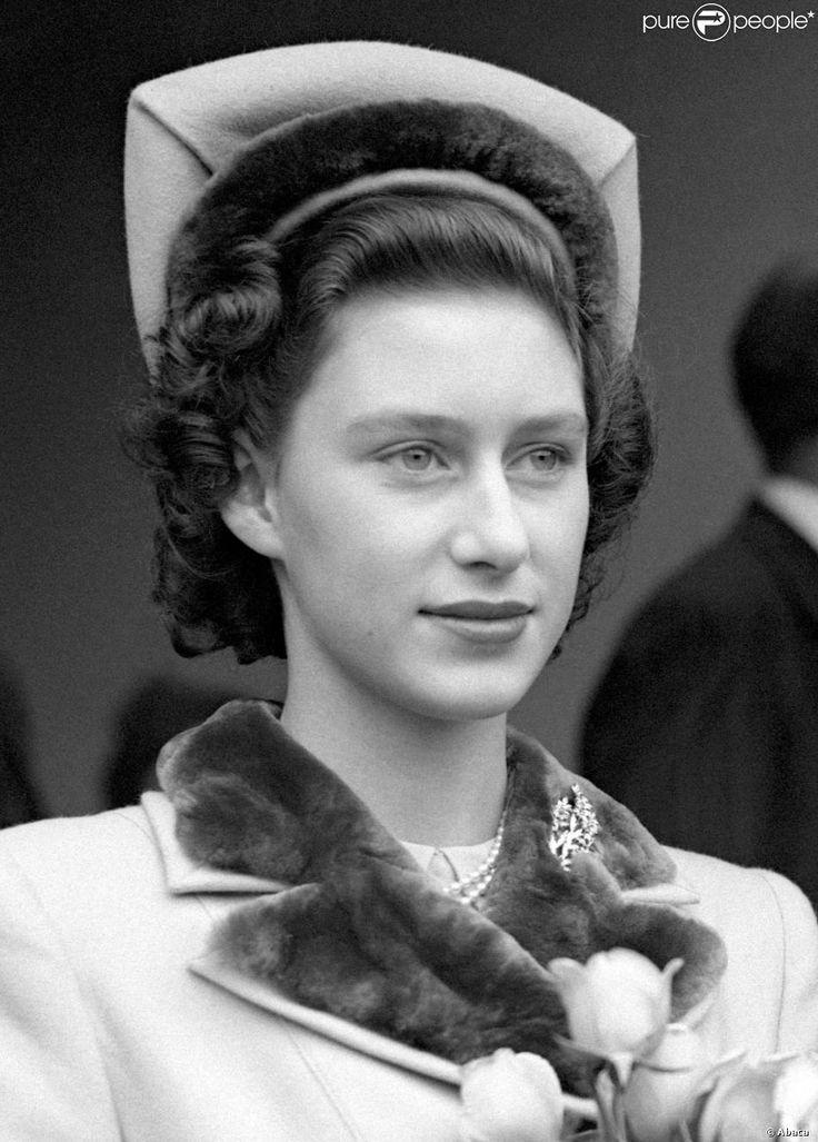 La princesse Margaret du Royaume-Uni en août 1948.