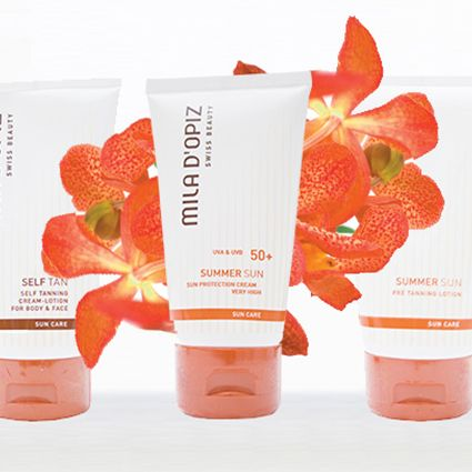 Mila d'Opiz Australia - We are dreaming of Summer. Don't forget it is still important to protect your skin from the sun's rays in Winter!