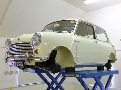 Classic Mini 1969 Austin Mini 998 Cooper In factory Snowberry White. in Cars, Motorcycles & Vehicles, Classic Cars, Mini | eBay