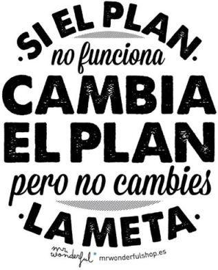 Plan B: Volver a ser Feliz.... ☺️
