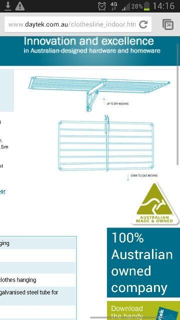 $??? Daytek 130W x 75D cm 7.5mtr line space on  poles 10yr warranty