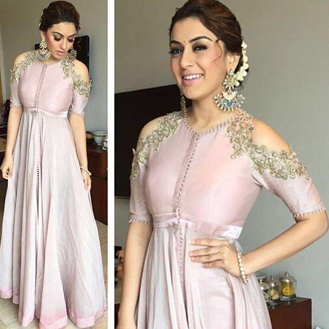 aashniandco: Spotted: @ihansika in @anushreereddyofficial. Shop the designer in-store. #aashniandco #indianfashion #asianfashion #indiandesigner #bridalfashion #indianbride #londonshopping #nottinghill #london #instalike #instapic #ootd #musthave #bollywood #celebritystyle #instafashion #indianwear #potd #fashion #indianwedding #weddingfashion #instadaily #instafashion #instastyle #style #shopnow #dailyfeature #shopping #anushreereddy #lakmefashionweek #igers
