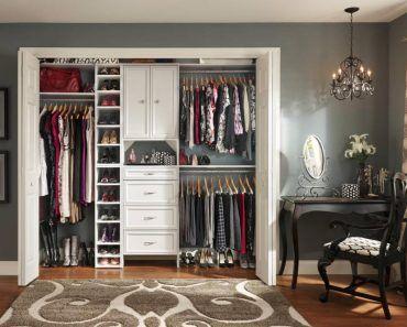 simple closet maid