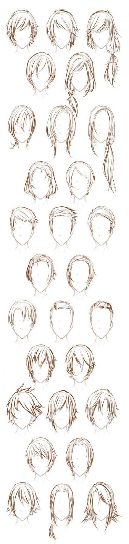 Hair tutorial drawing character design sketch 43 ideas for 2019