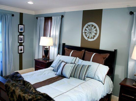 dark brown and baby blue bedroom ideasjpg 555 - Bedroom Ideas For Teenage Girls Teal And Brown