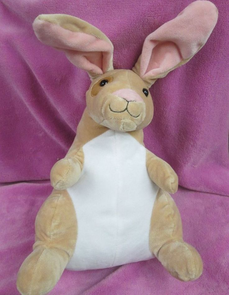 "11"" Beige and White Male Kangaroo Plush Toy from Kohl's Cares #KohlsCares"