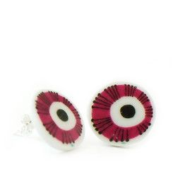 Earrings Bellis - Earrings manufactured from recycled porcelain.