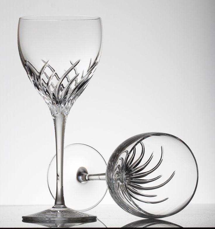 Emerald White Wine Glasses
