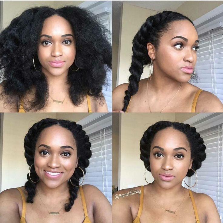 ManeGuru.com| Natural Hairstyles: Bantu Knots, Afros, Twist outs, Protective Styles | Visit ManeGuru.com for more!