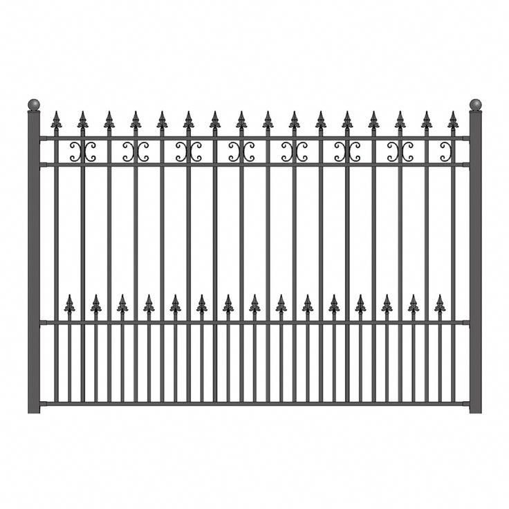 Make Sure You Visit Our Page For Even More Involving This Stunning Picket Fence Picketfence In 2020 Steel Fence Wrought Iron Fences Iron Fence