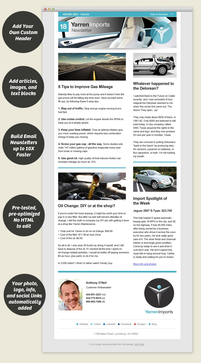 17 best images about newsletter ideas on pinterest email for Beautiful newsletter design