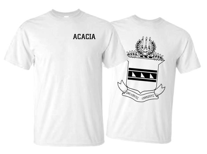 ACACIA World Famous Crest Tee- $14.95!