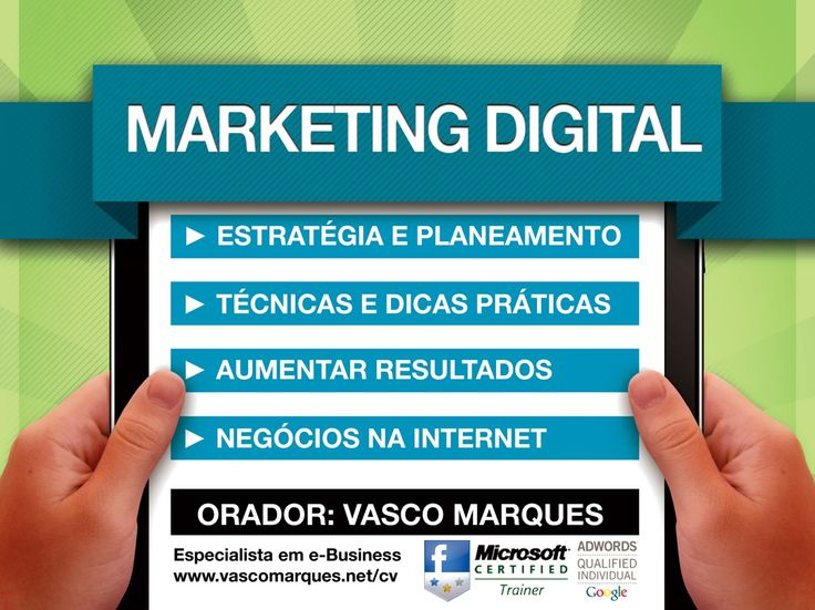 Curso Marketing Digital (3ª edição - ANJE Porto) - Vasco Marques