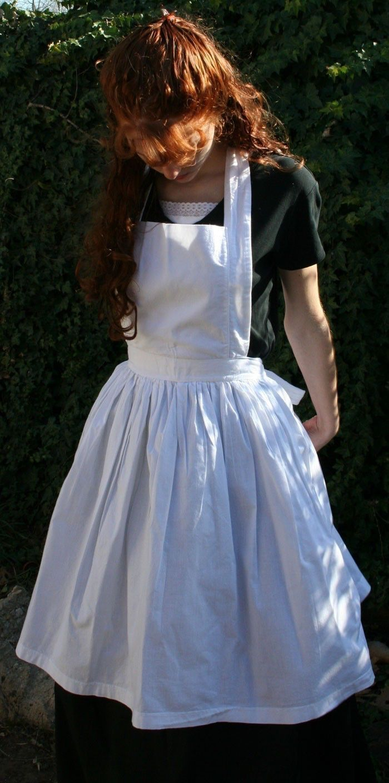 White apron ladies - Ladies Bib Apron By Heartsandhome On Etsy Https Www Etsy Com