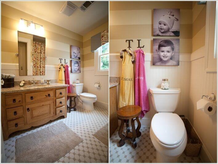 170 besten bathroom bilder auf pinterest badezimmer innendekoration und wohnideen. Black Bedroom Furniture Sets. Home Design Ideas