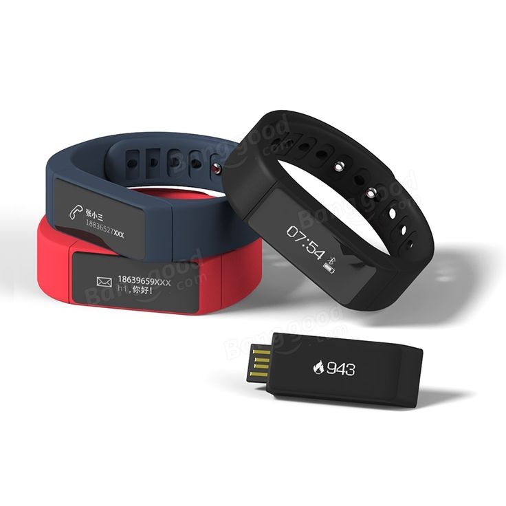 US Direct | D6 PLUS Waterproof Bluetooth Smart Wristband Bracelet For IOS Android