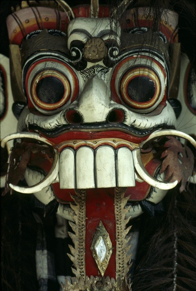 ACEO - Balinese Spirit Mask | It's A Small World: ACEOs ...