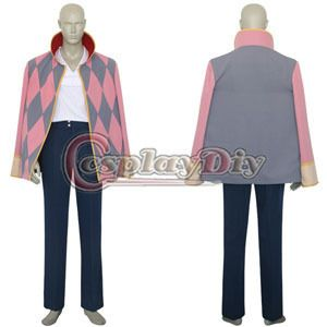 Custom Made 2014 New Arrival  Anime Cartoon Castle Howl Movie Cosplay Costume For Men-in Clothing from Novelty & Special Use on Aliexpress.com | Alibaba Group