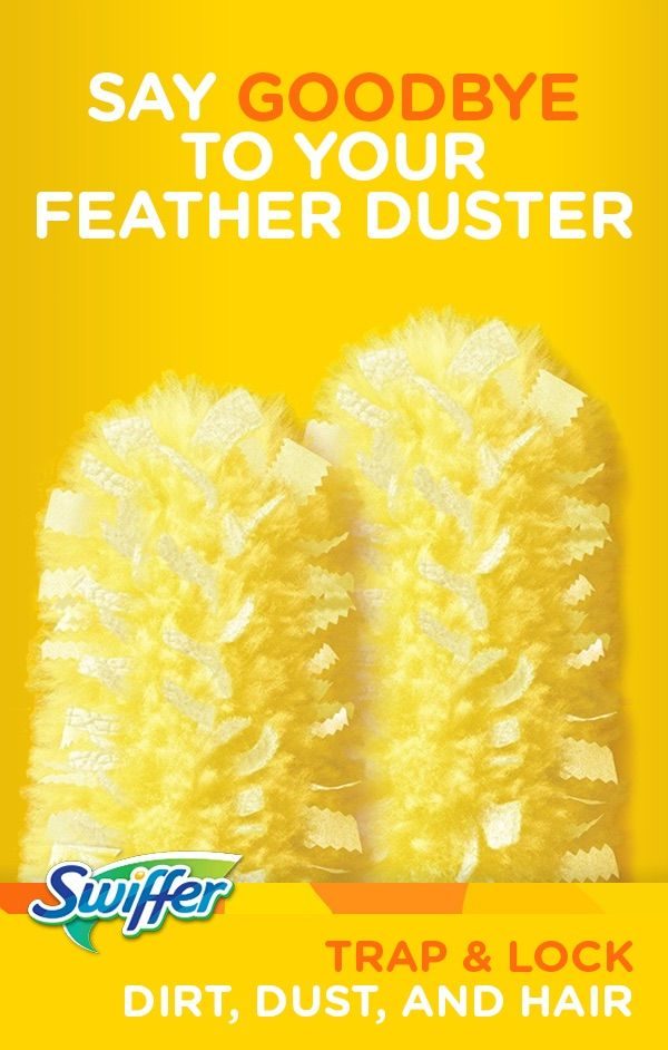 Who wouldn't want to spend less time cleaning? Swiffer® 360º Dusters™ does the job better, saving you precious time. With 50% more fibers than regular dusters, this amazing all-around design cleans deep into grooves to trap and lock more dust.