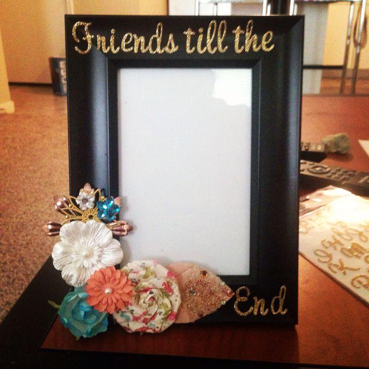 DIY frame.