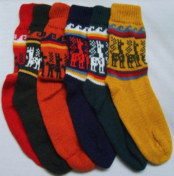 Alpaca Socks warm and comfortable 100% Alpaca by AndeanShelter