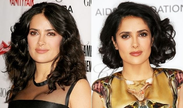 Salma Hayek Hairstyles – Hairstyle Pictures on ELLE.com