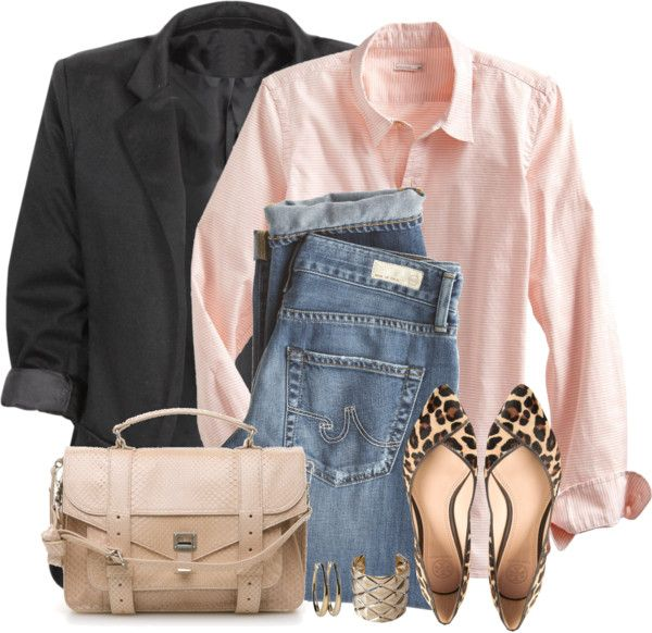 Casual Pink Boyfriend Shirt Outfit | Outfits Pedia