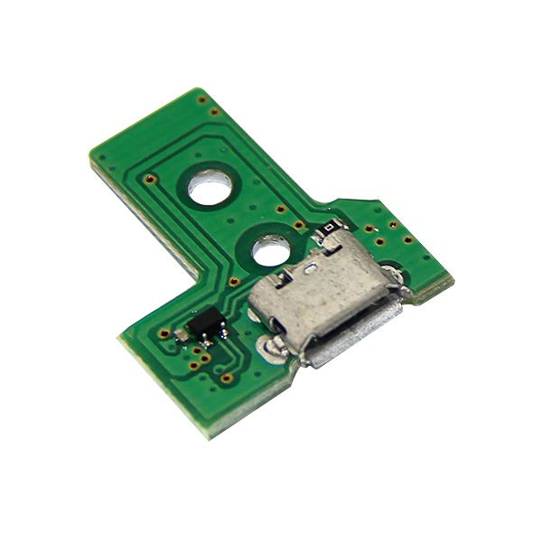 New 12 Pin Ps4 Controller Usb Charger Pcb Board Green Ps4 Controller Usb Chargers Pcb Board