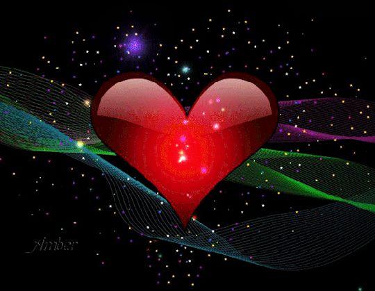 Днем, картинки анимации с сердцем